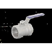 """Кран шаровый муфтовый стандартнопроходной 1"""" (DN25), AISI304 (CF8), PN63, NK-BMG25/4"""
